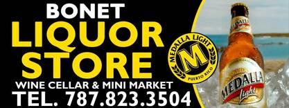 Bonet liquor store rincon puerto rico